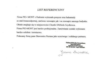 PioMont | Rekomendacje