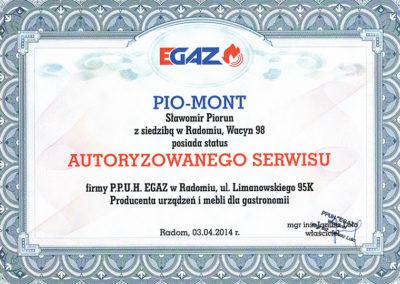 PioMont | Certyfikaty